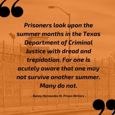 Eastham Prison Officials Refuse to Provide Ice and Water to Prisoners Trapped in Ad-Seg Cells!